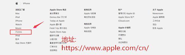 选择iTunes