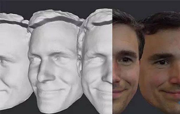 3D面部扫描摄像头