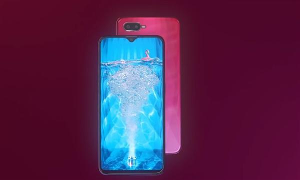 OPPO F9 Pro宣传视频曝光:全新水滴屏设计