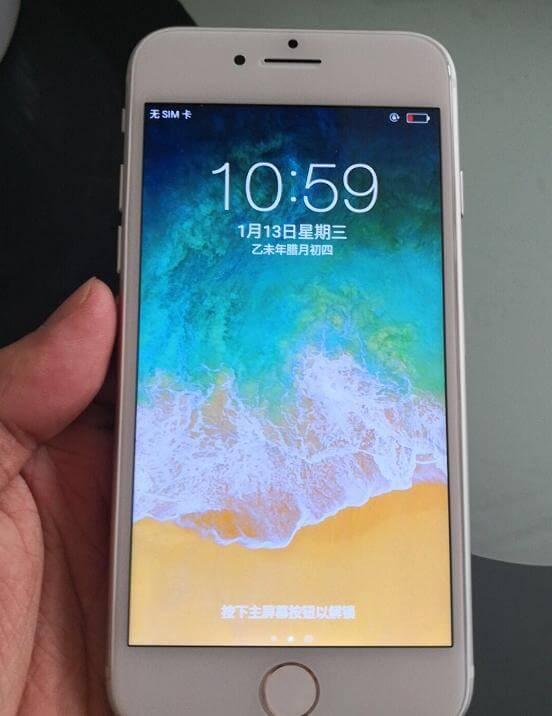 网友购买苹果手机觉得不对劲!iPhone8、iPhone7P、iPhone6s果粉一眼看出破绽!