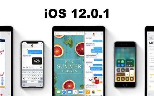 苹果公布iOS12.0.1版本:不仅修复BUG还真的超级省电